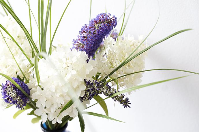 Gartenstrauß | Hortensien, Sommerflieder und Gräser