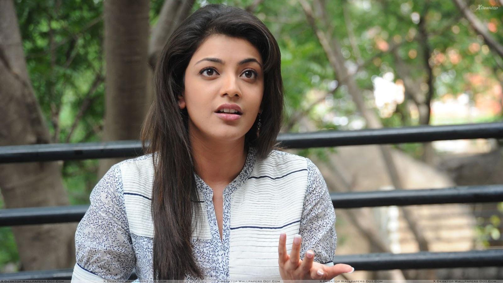 Kajal Aggarwal - A South Indian Actress