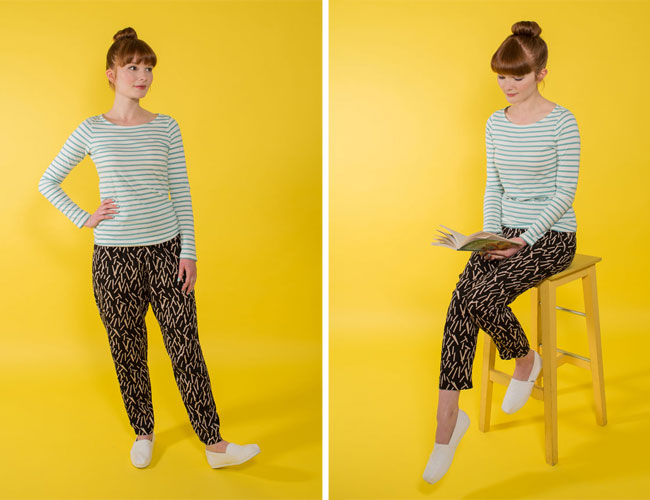 Marigold trousers sewing pattern - Tilly and the Buttons