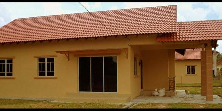 Reka Bentuk Rumah Teres 1 Tingkat Berkongsi Gambar Hiasan