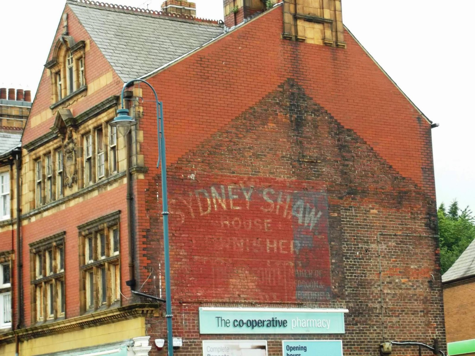 second hand corner sofas leeds box sofa living divani andrew simpson a ghost sign in stalybridge and hints of