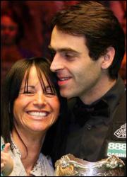 Ronnie O'Sullivan wife Jo Langley 1