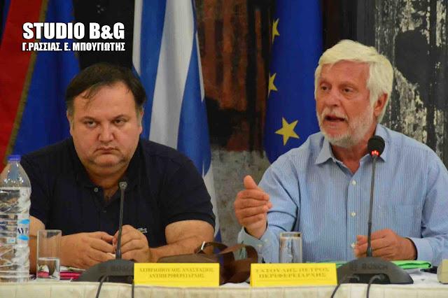 Τατούλης: Αναλαμβάνουμε πρωτοβουλίες και δίνουμε λύσεις σε πληθώρα προβλημάτων των Δημοτικών αρχών