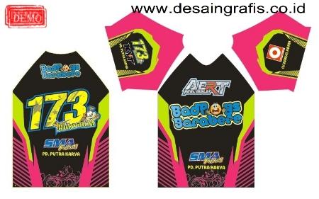 Desain Kaos Jersey Racing