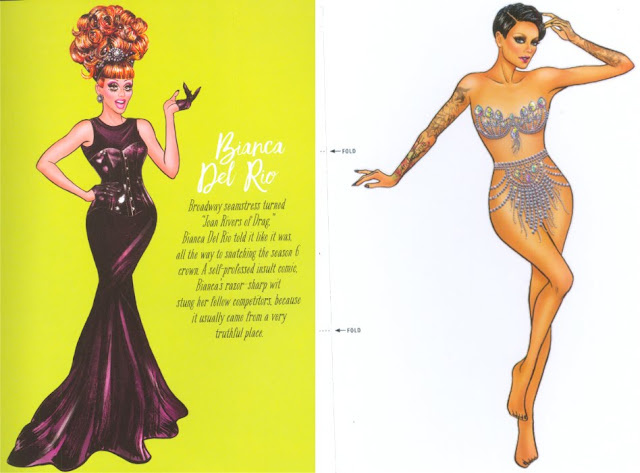 Drag Queen Paper Dolls