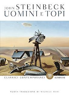 copertina Uomini e topi Steinbeck Mari