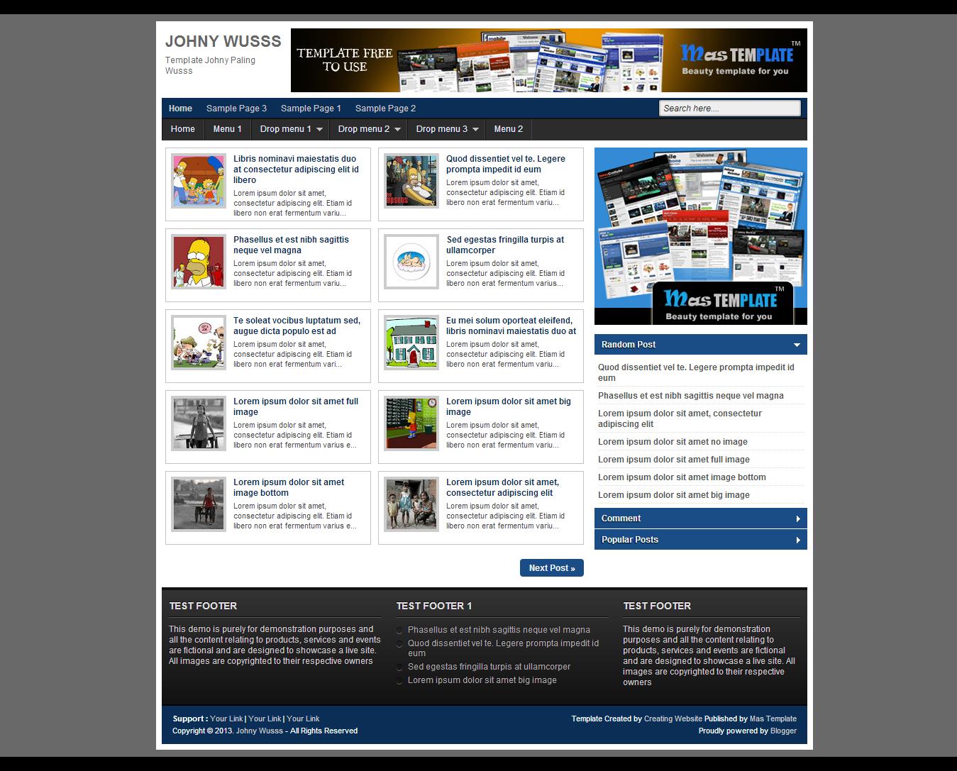 Chia sẻ 2 theme cho blogspot IT, Software chắc bạn sẽ thích