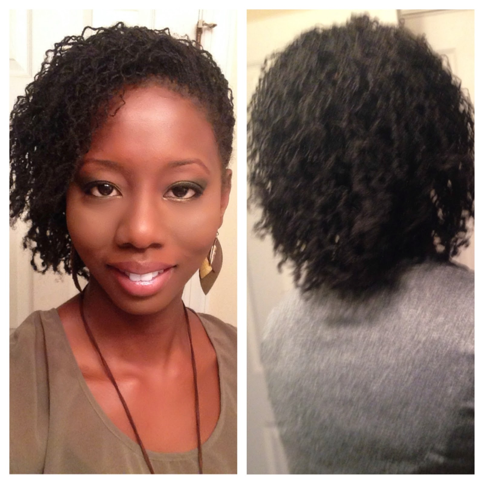 Incredible Naturally Relaxed Naturally Me Sisterlocks At 2 Months Short Hairstyles For Black Women Fulllsitofus
