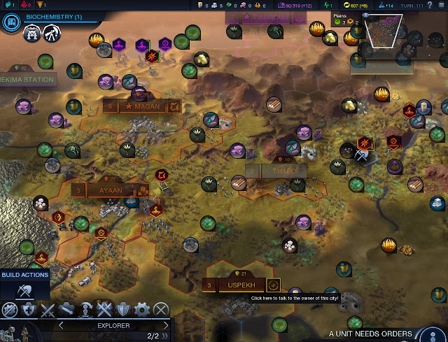 Civilization: Beyond Earth  | Resources Screenshot