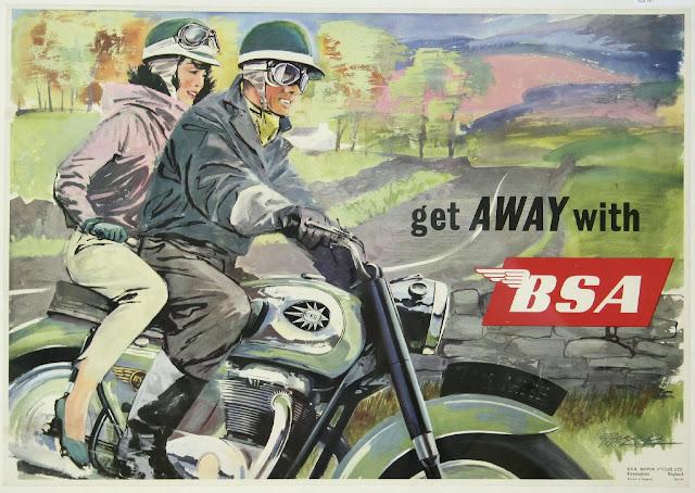 Xe cổ BSA - Lịch sử và cái chết được báo trước của BSA
