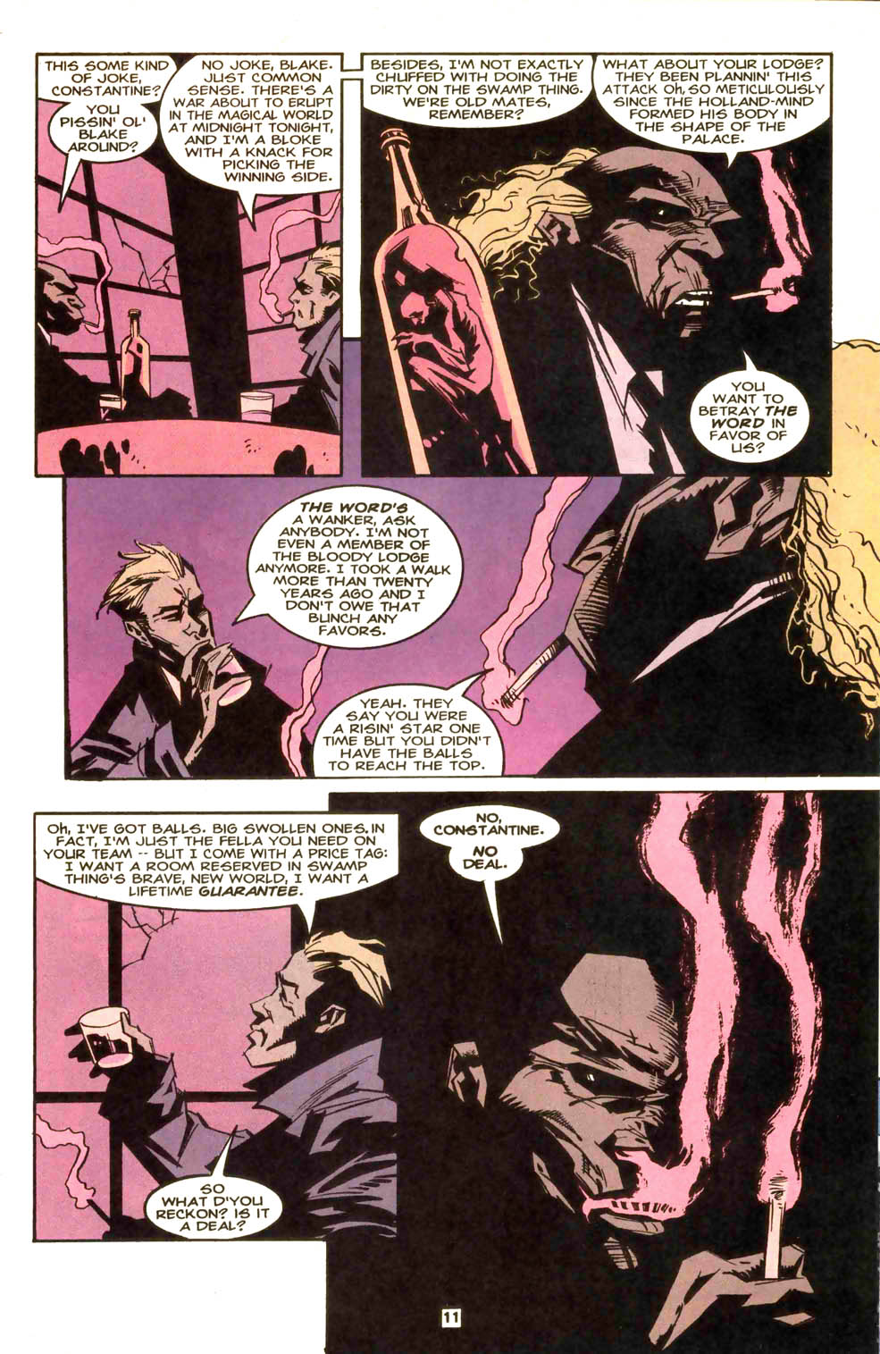 Swamp Thing (1982) #169 #177 - English 12