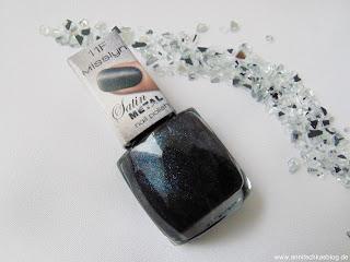 Misslyn - Satin Metal Nail Polish - Nr. 11F Edgy - www.annitschkasblog.de