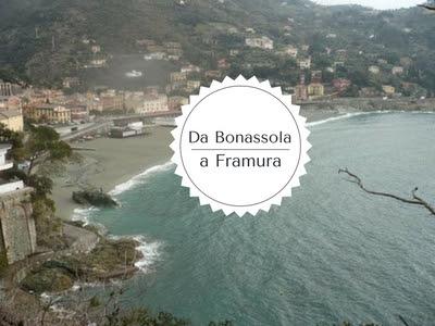 trekking da Bonassola a Framura: vista di Bonassola
