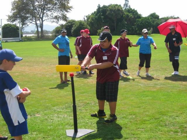 622a180a7 Tamaki 3 Seniors Enjoying Adapted Cricket @ Parnell Cricket Club, Auckland