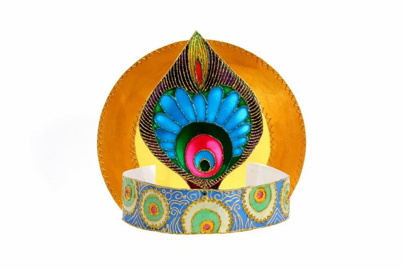 Card Making Ideas For Janmashtami Part - 20: Krishna Janmashtami U2013 How To Make A Krishna Crown
