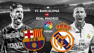 بث مباشر مباراة كلاسيكو العالم بين برشلونة وريال مدريد  تعليق : عصام الشوالي