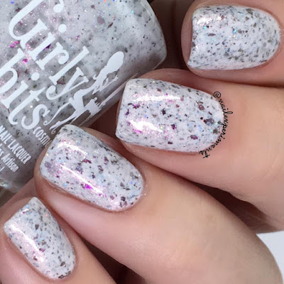 girly bits bouquet corral swatch april 2018 colour of the month