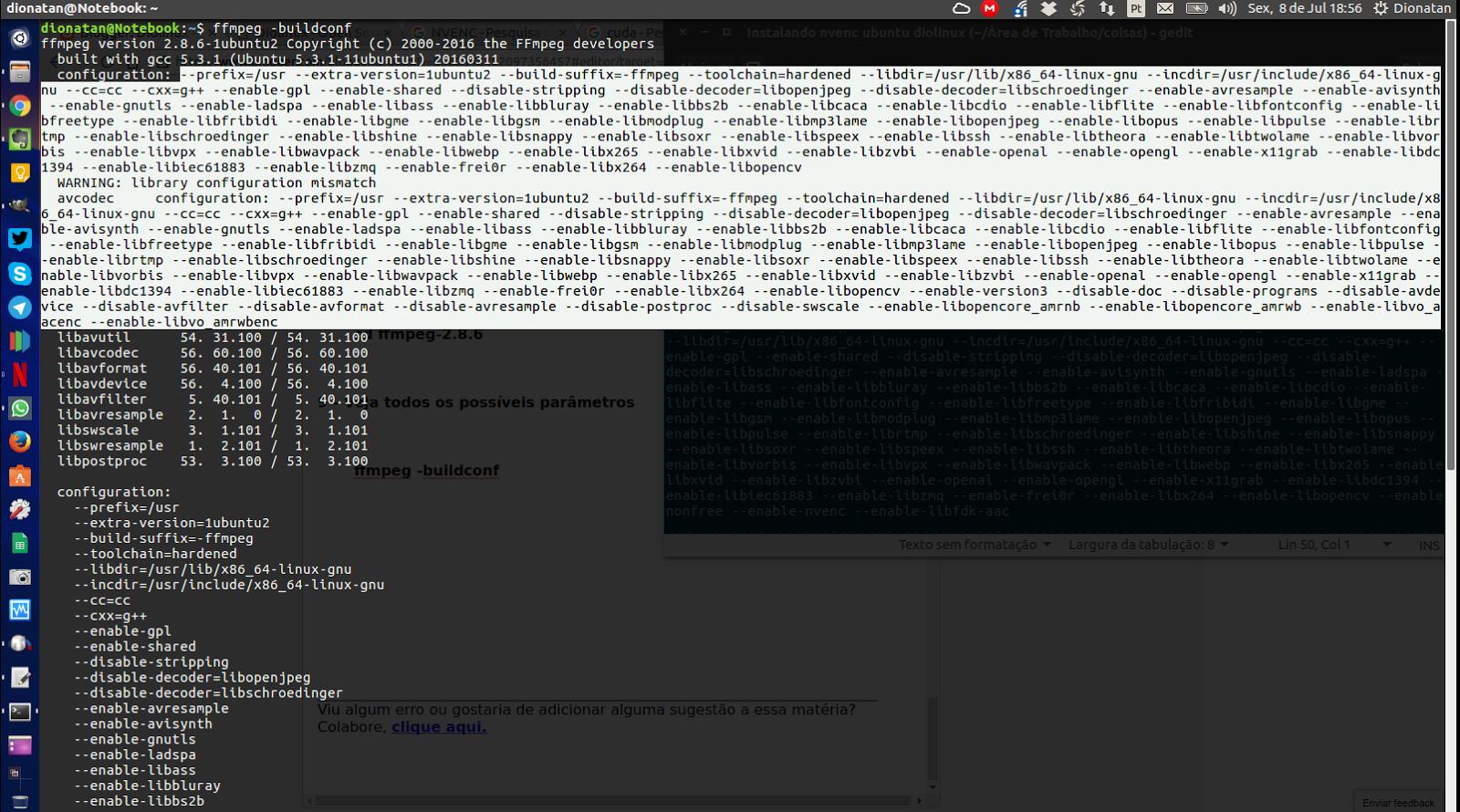 Como instalar o FFmpeg-NVENC no Ubuntu - Tutorial passo a