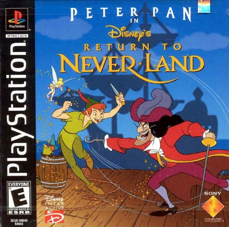Disneys Peter Pan in Return to Neverland - PS1 - ISOs Download