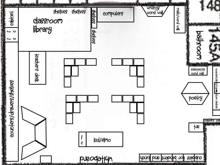 Floor Plan For Kindergarten Classroom Thefloors Co