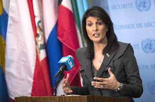 Nikki Haley describes Iran as 'next North Korea'
