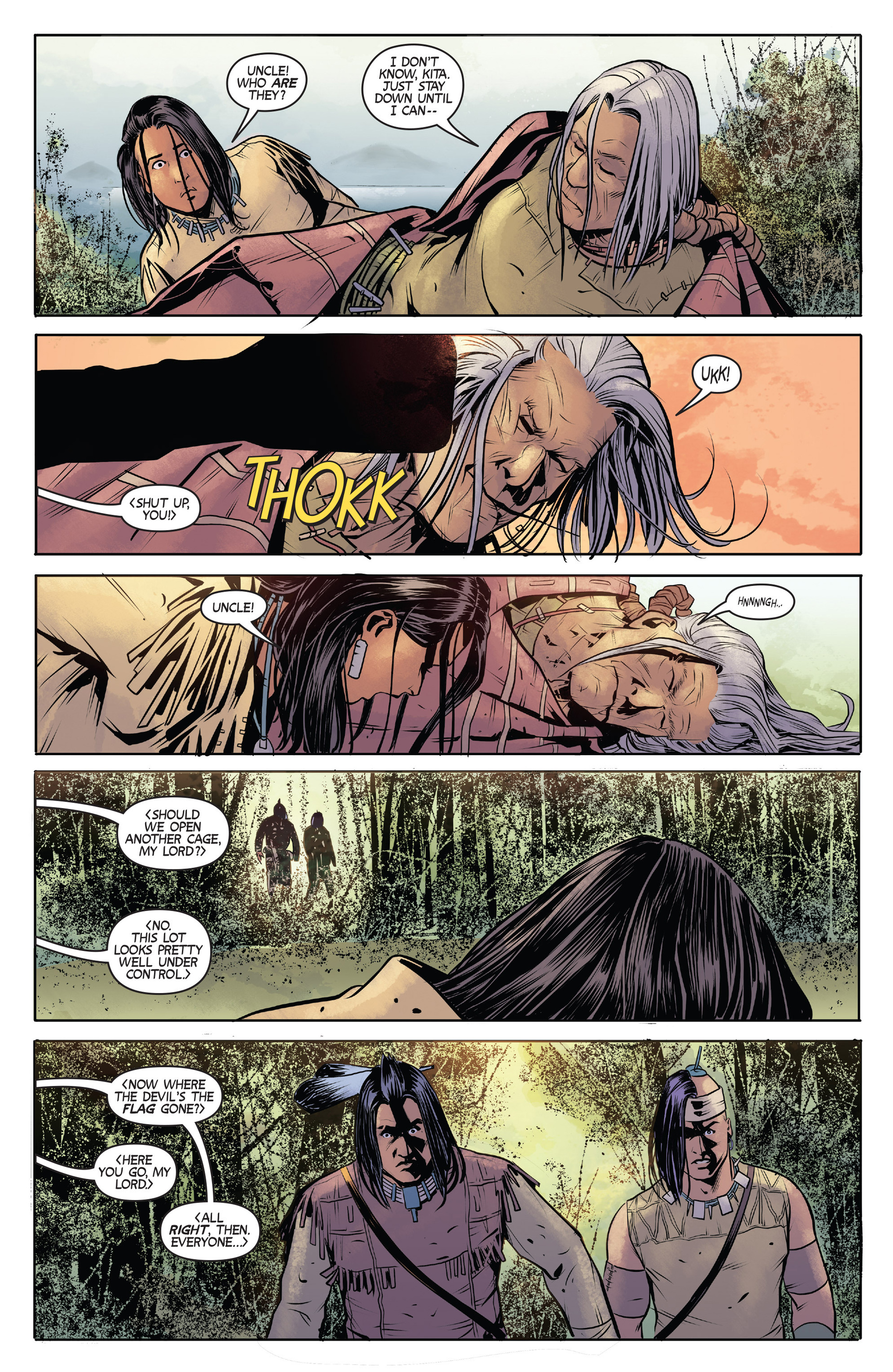 Read online Turok: Dinosaur Hunter (2014) comic -  Issue #1 - 22