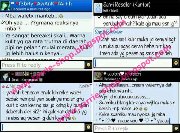 Testimoni Cream Walet 2 In 1 Super Whitening