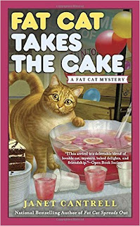 Fat Cat Takes the Cake book cover.