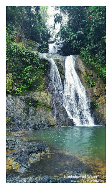 Himbabawud Waterfalls in Barangay Bonbon, Cebu City