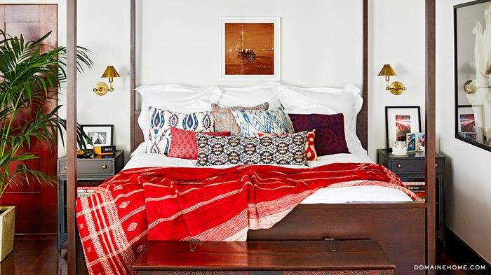спальня Джессики Альбы