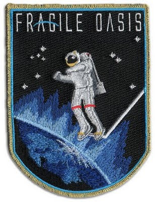 Fragile Oasis mission patch