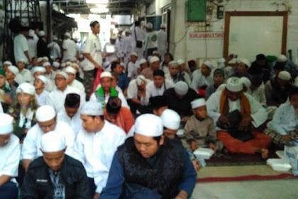 Yasinan Di Markas FPI, Habib Rizieq Kultum Streaming Dari Arab