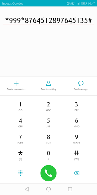 kode dial isi voucher smartfren