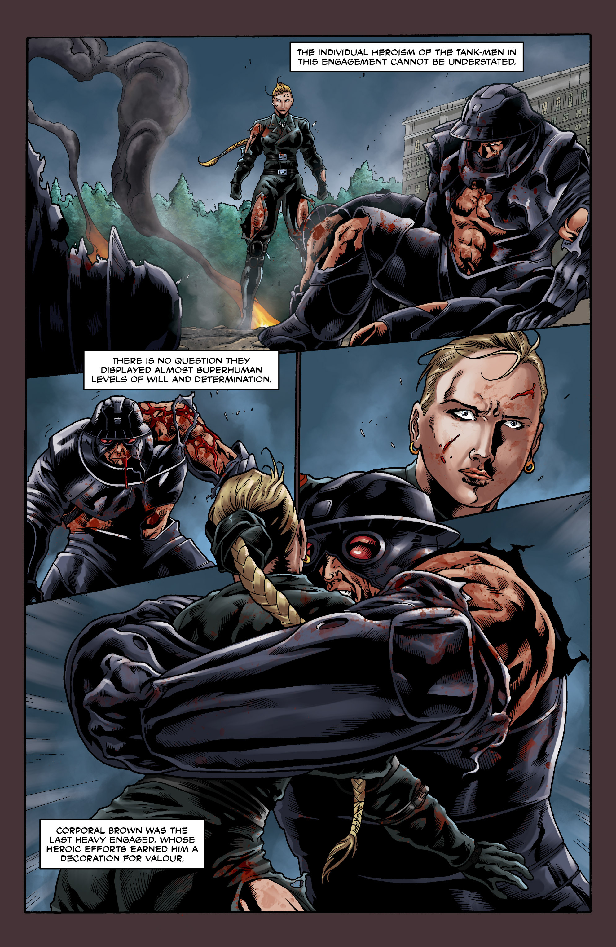 Read online Uber comic -  Issue #11 - 14