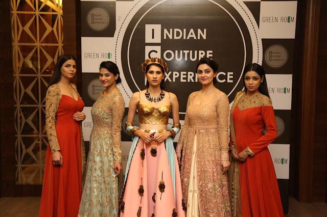 Kiran Khokhar,Kritika, Aanchal Rai,Ridhima Oberoi, Shagufta Posing thin designer garments