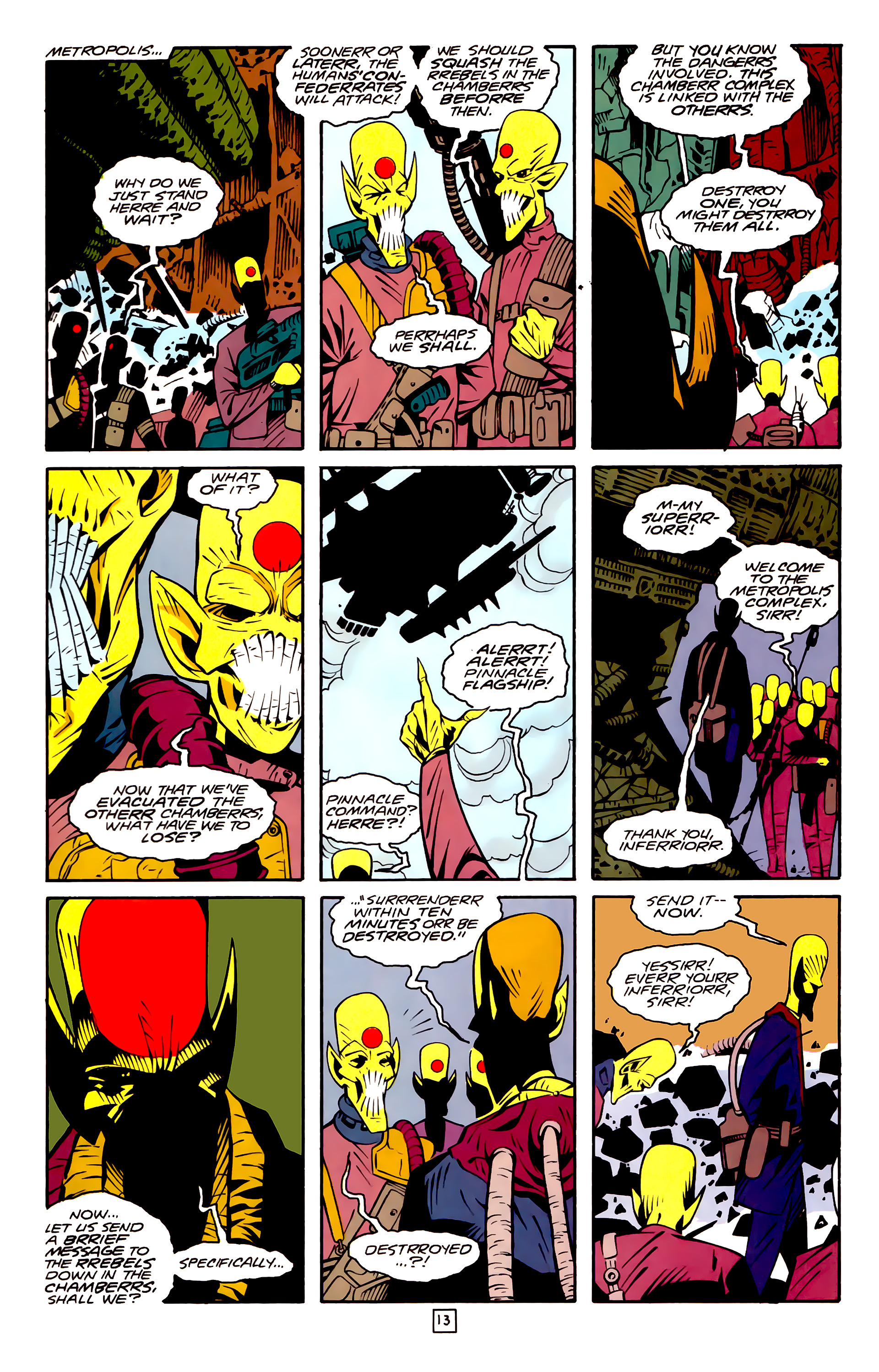 Legion of Super-Heroes (1989) 32 Page 13