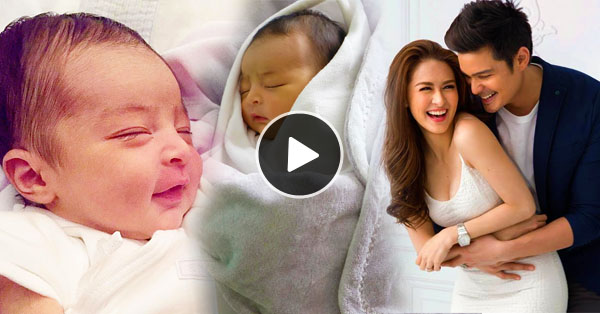 First Glance To The Baby Of Dingdong Dantes And Marian Rivera