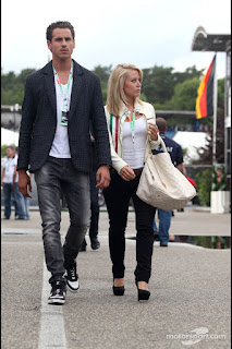Adrian Sutil;s wife