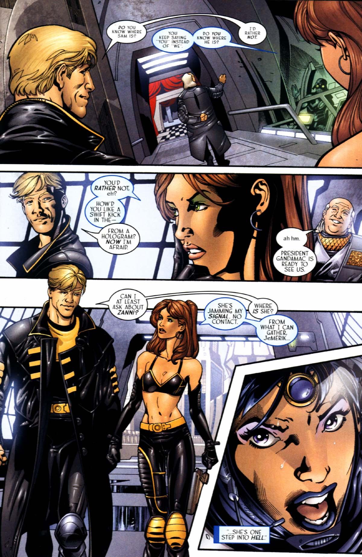 Read online Sigil (2000) comic -  Issue #21 - 11