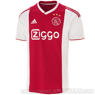 AFC Ajax 2018-19 Adidas Kit