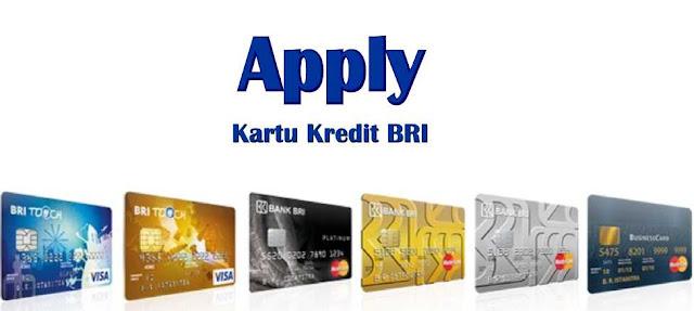 apply kartu kredit bri secara online