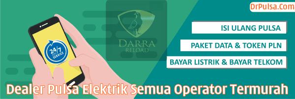 DrPulsa.Com Darra Reload DR Android Center Dealer Pulsa Elektrik Semua Operator Termurah Tangerang Jakarta