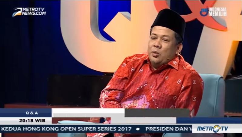 """Keren Nih """"Dikeroyok"""" di Acara MetroTV, Tak Ada Satupun yang Berhasil Bungkam Fahri Hamzah"""