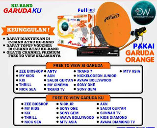 Review Matrix Garuda KU Orange Diamond One