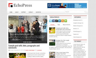 EchoPress Blogger Template