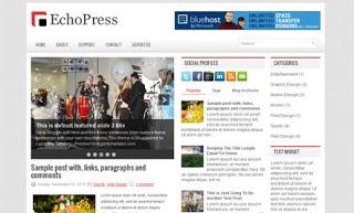 EchoPress Blogger Template