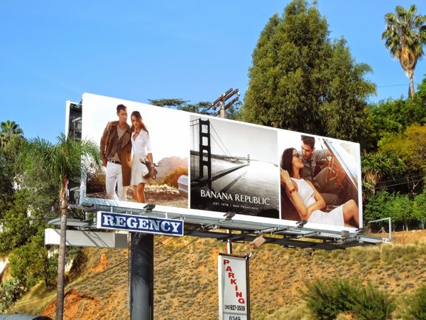 Banana Republic True Outfitters Spring 2014 billboard