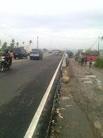 Flyover at Jl.Pangeran Antasari
