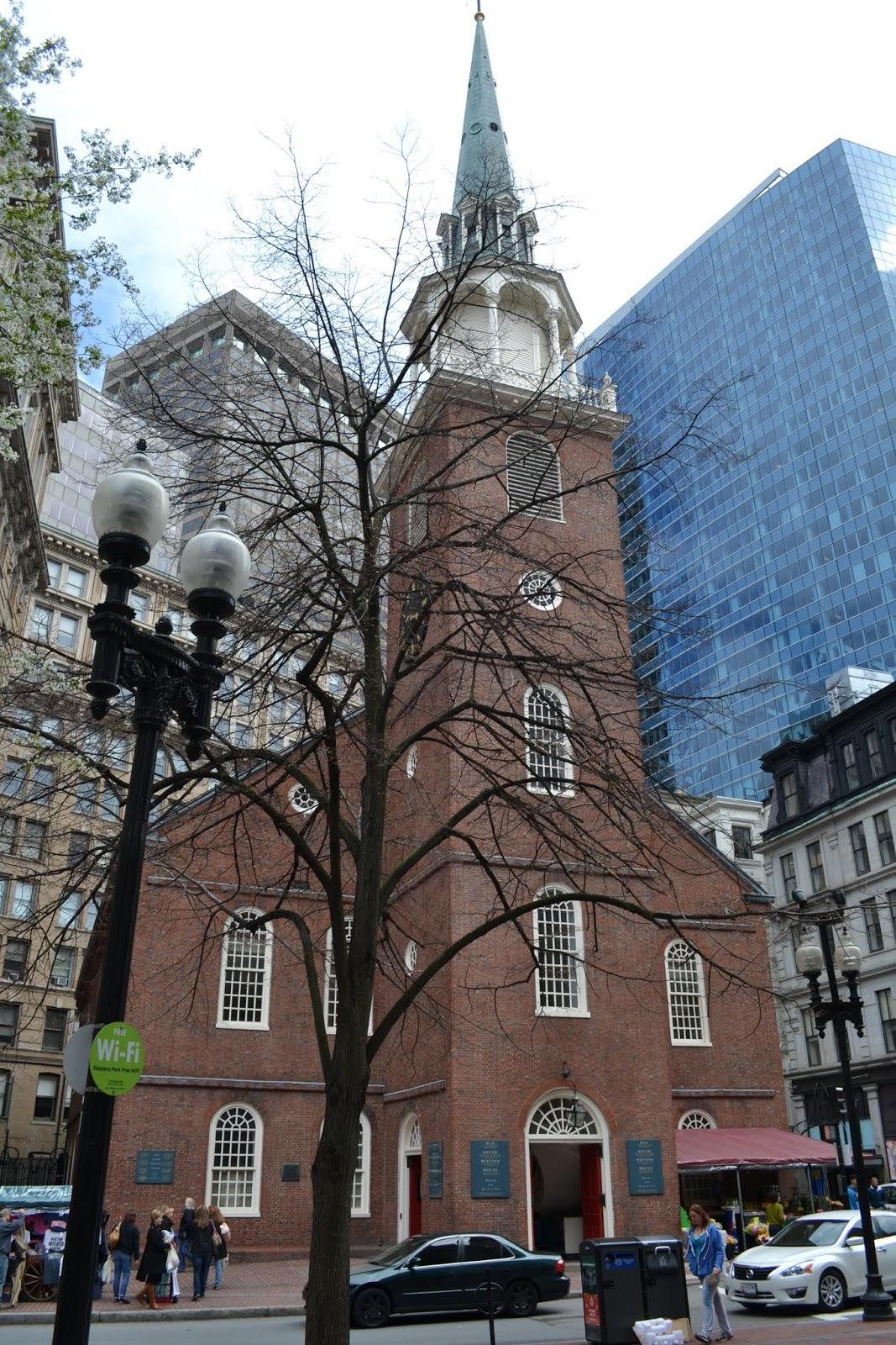 Старый Дом собраний, Бостон, Массачусетс(Old South Meeting House, Boston, MA)