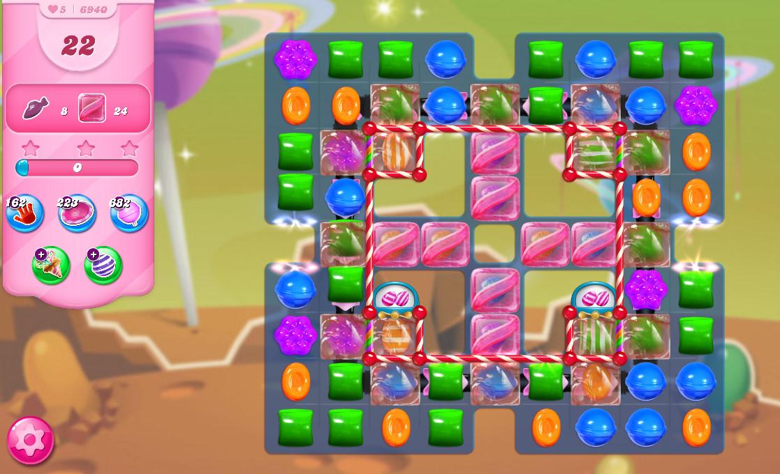 Candy Crush Saga level 6940